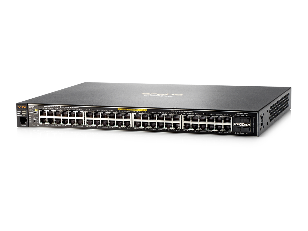 Коммутатор Aruba 2530-48G-PoE+ Switch