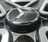Колпачок ступицы колеса Mercedes AMG 70-75mm