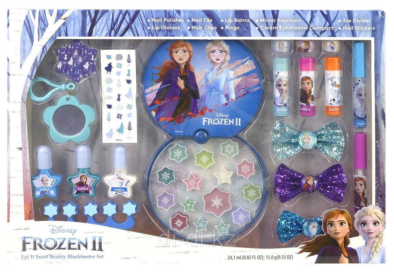Набор детской декоративной косметики для лица и ногтей Frozen