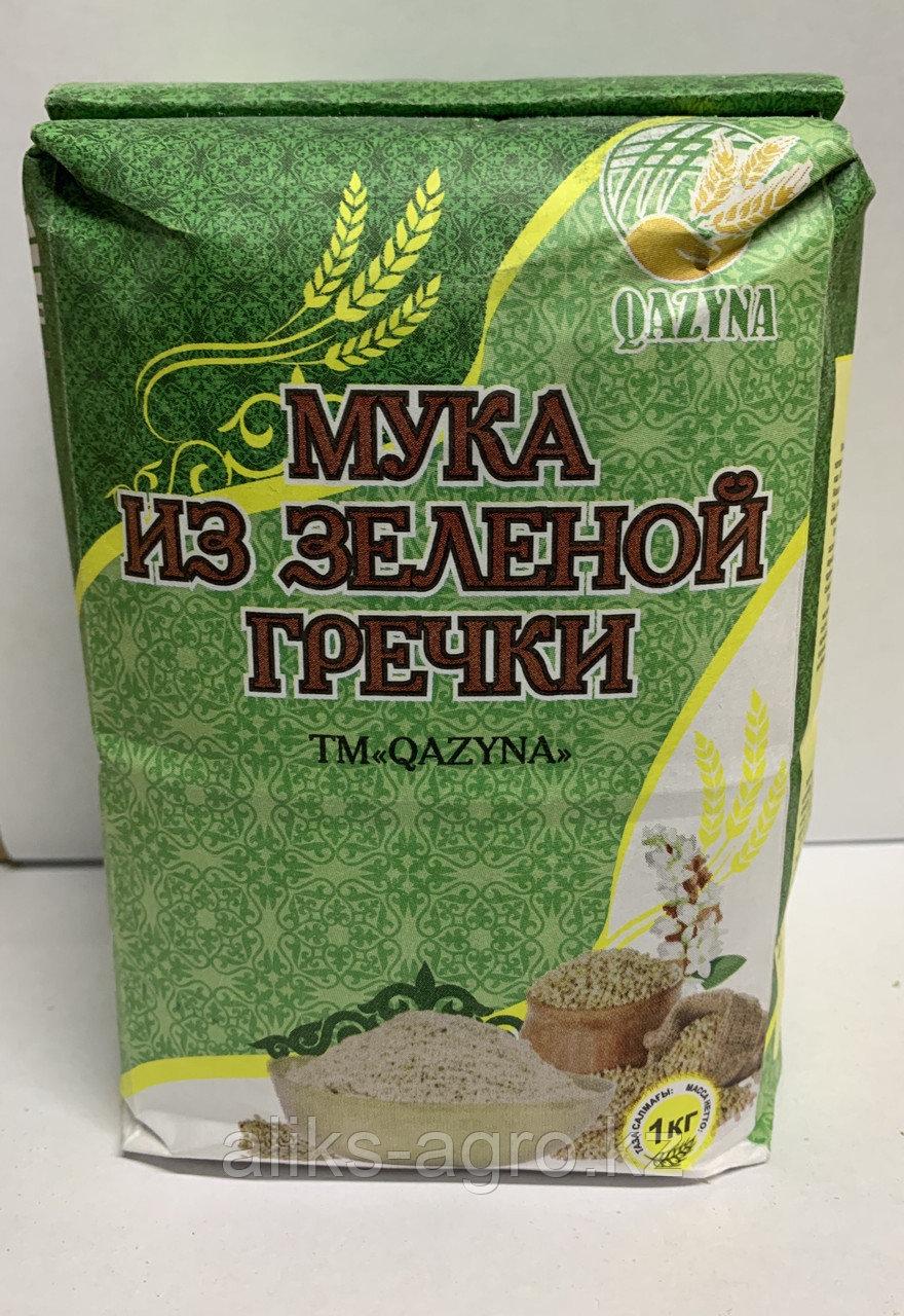 Мука из зеленой гречки