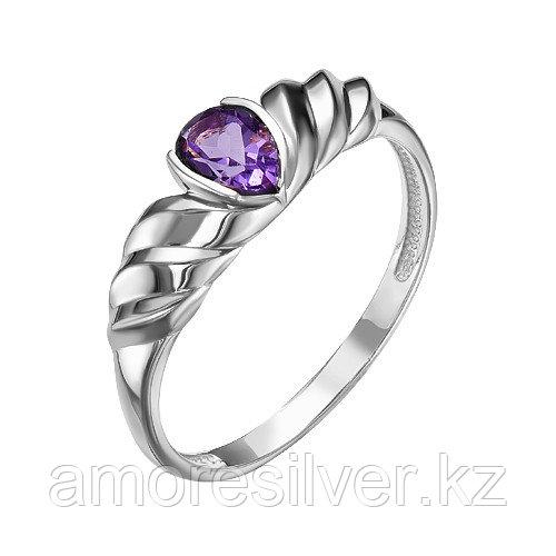 Кольцо из серебра с аметистом  Teosa К620-4306Ам
