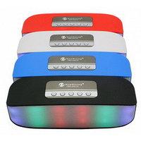 Беспроводная портативная Bluetooth колонка с подсветкой, New Rixing NR-2014
