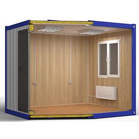 Блок контейнер, жилой утепленный 10 ф.