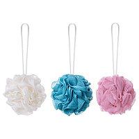Мочалка для тела ОБИОН разноцветный 3 шт. ИКЕА, IKEA
