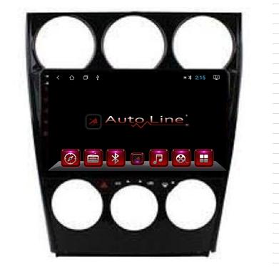 Автомагнитола AutoLine Mazda 6 2003 HD ЭКРАН 1024-600 ПРОЦЕССОР 8 ЯДЕР (OCTA CORE)