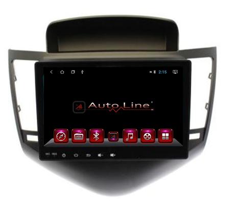 Автомагнитола AutoLine Chevrolet Cruze 2008-2012 HD ЭКРАН 1024-600 ПРОЦЕССОР 8 ЯДЕР (OCTA CORE), фото 2