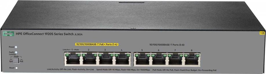 Коммутатор HPE 1920S 8G PPoE+ 65W Switch, фото 2