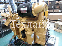 Двигатель Shanghai SC11CB184G2B1 / C6121ZG57 на бульдозер Shantui SD16