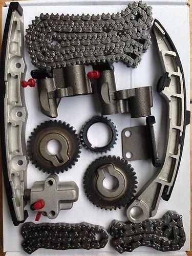Комплект для замены цепи ГРМ NISSAN KA24DE 90- (двухрядная цепь)