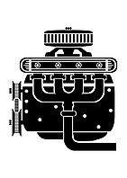 Двигатель 3L комплектации SHORT (блок цилиндров в сборе)