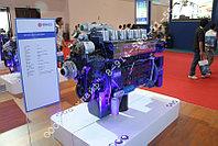 Двигатель газовый WP12NG380E40 на тягач Shacman, Shaanxi, Dayun Truck (природный газ метан или пропан-бутан)