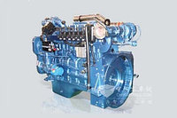 Двигатель газовый Shanghai SC9DT280Q4 для грузовых шасси, техники на этих шасси и автобусов.