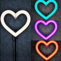 Кольцевой свет Сердце Кольцевая лампа Селфи Лампа LED лампа