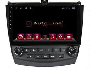 Автомагнитола AutoLine Honda Accord 2003-2008 HD ЭКРАН 1024-600 ПРОЦЕССОР 8 ЯДЕР (OCTA CORE)