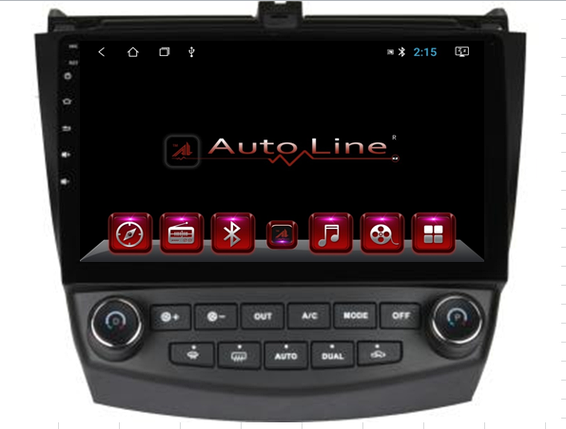 Автомагнитола AutoLine Honda Accord 2003-2008 HD ЭКРАН 1024-600 ПРОЦЕССОР 8 ЯДЕР (OCTA CORE), фото 2