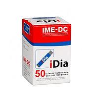 Тест полоски для измерения глюкозы в крови iDia №50