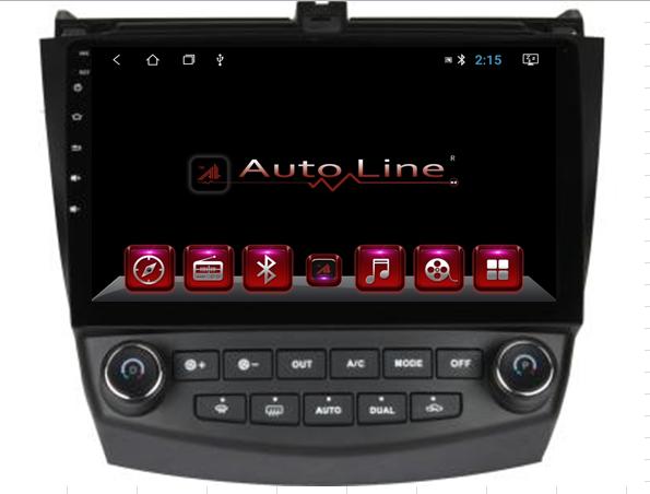 Автомагнитола AutoLine Honda Accord 2008-2013 HD ЭКРАН 1024-600 ПРОЦЕССОР 4 ЯДРА (QUAD CORE)
