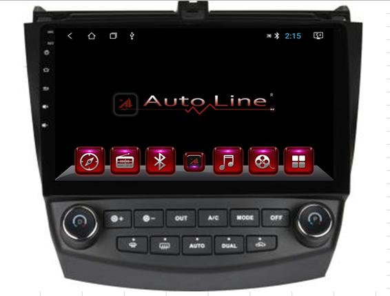 Автомагнитола AutoLine Honda Accord 2008-2013 HD ЭКРАН 1024-600 ПРОЦЕССОР 4 ЯДРА (QUAD CORE), фото 2