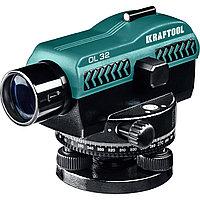 Оптический нивелир, OL-32 увеличение 32Х рабочий диапазон 122 м, KRAFTOOL 34520