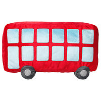 Подушка,УППТОГ красный, 45x27 см ИКЕА, IKEA, фото 1