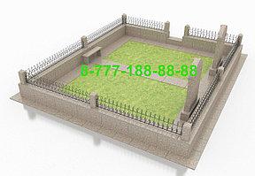 Благоустройство мусульманкой могилы, фото 2