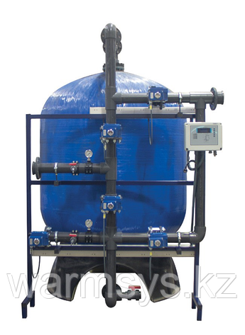 Промышленные системы фильтрации c боковой обвязкой STEEL TANK