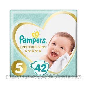 Pampers Подгузники Pampers, Premium Care Junior 5, XL, 42 шт/упак.