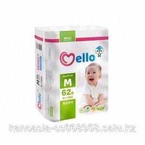 Mello Подгузники Mello Premium 3, M, 6 - 10 кг, 62 шт/упак.