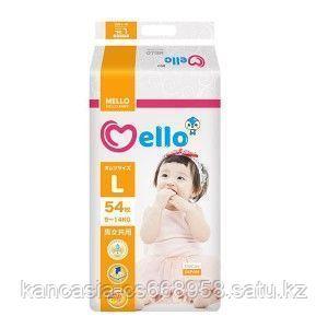 Mello Подгузники Mello Premium 4, L, 9 - 14 кг, 54 шт/упак.