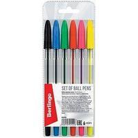 Berlingo Ручка шариковая, Berlingo, цвет чернил - ассорти, ø 0,5 мм.