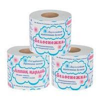 Карина Туалетная бумага, Карина Белоснежка, слоев - 2, намотка - 23 м., упак - 1шт.