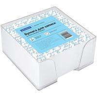 OfficeSpace Блок бумаги для заметок OfficeSpace, 90*90*45 мм., пластиковый бокс, белый.