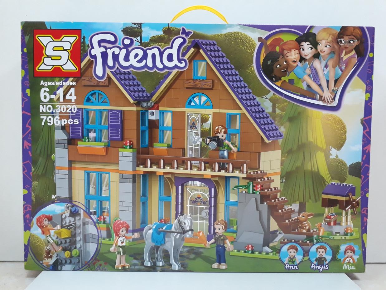 Конструктор Friends 3020 796 pcs. Для девочек.