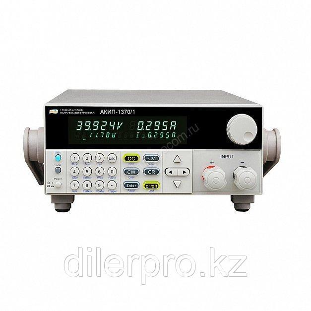 Программируемая электронная нагрузка постоянного тока АКИП-1370
