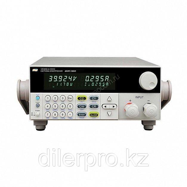 Программируемая электронная нагрузка постоянного тока АКИП-1383/1