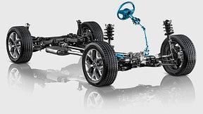 Ходовая и рулевое управление Hyundai Santa Fe (2012-2016)