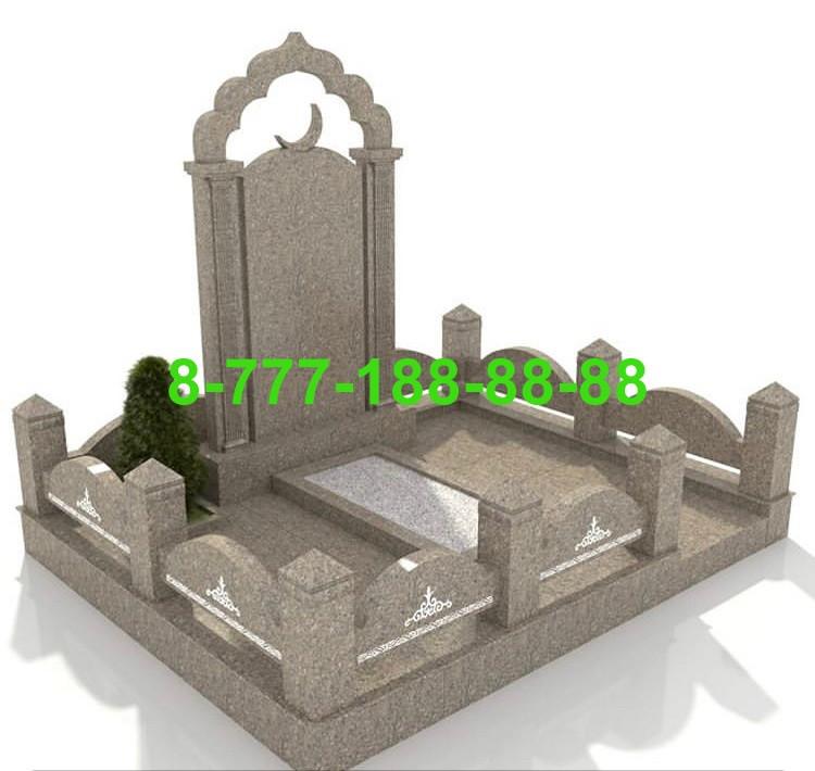 Благоустройство мусульманкой могилы