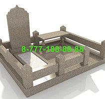 Благоустройство мусульманской могилы