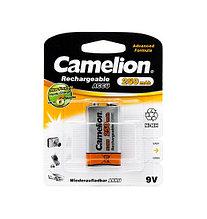 CAMELION NH-9V250BP1 Аккумулятор Rechargeable, Lockbox Rechargeable, 6F22(крона), 9V, 250 mAh, 1 шт., Блистер