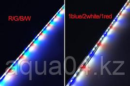 Светодиодная линейка (Бело-голубые-красные диоды)