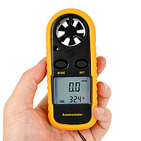 Анемометр измеритель скорости ветра цифровой