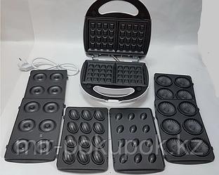 Аппарат для изготовления пончиков DSP KC-1131 печенья, вафель, бисквита, орешков 4в1