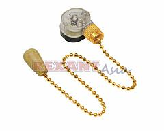 Выключатель Gold с деревянным наконечником, (упаковка 10 шт), (32-0106), Rexant