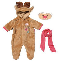 "Костюм для куклы Baby Annabell ""Северный олень"" Zapf Creation"
