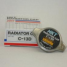 Крышка радиатора HKT С-13D для авто TOYOTA, MAZDA SUZUKI 1.1kg/m2. Низкий клапан