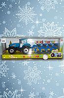 Инерционный грузовык, Синий трактор, фото 1