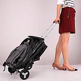 Коляска Mstar (Baby Grace) с чехлом на ножки Синий, фото 5