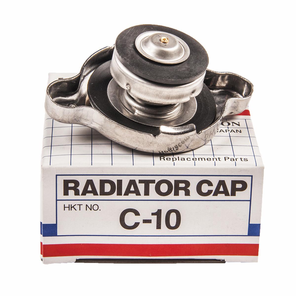 Крышка радиатора HKT (Япония) C-10 0.9kg/m2 маленький TOYOTA, HONDA, MAZDA, SUBARU, NISSAN, ISUZU, SUZUKI