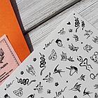 Набор слайдеров RockNail Nail Tattoo Fauna, фото 5