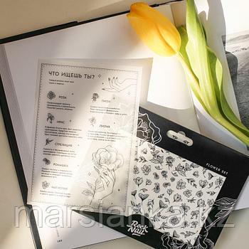 Набор слайдеров RockNail Nail Tattoo Flowers